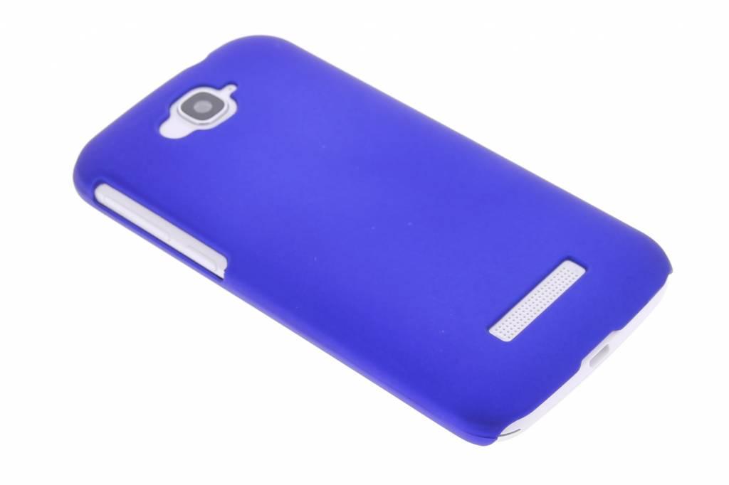 Blauw effen hardcase hoesje voor de Alcatel One Touch Pop C7
