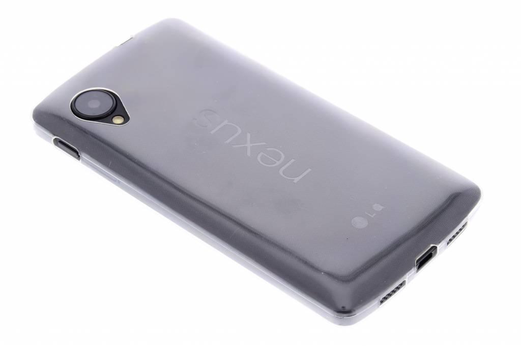 Ultra thin transparant TPU hoesje voor de LG Nexus 5