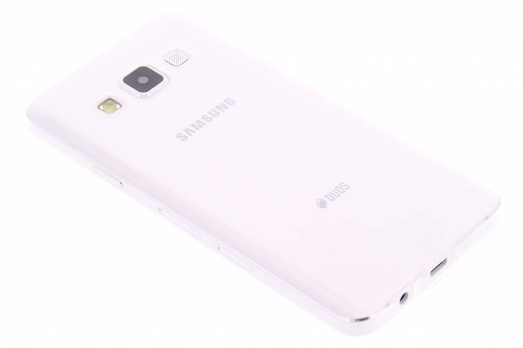 Ultra thin transparant TPU hoesje voor de Samsung Galaxy A3
