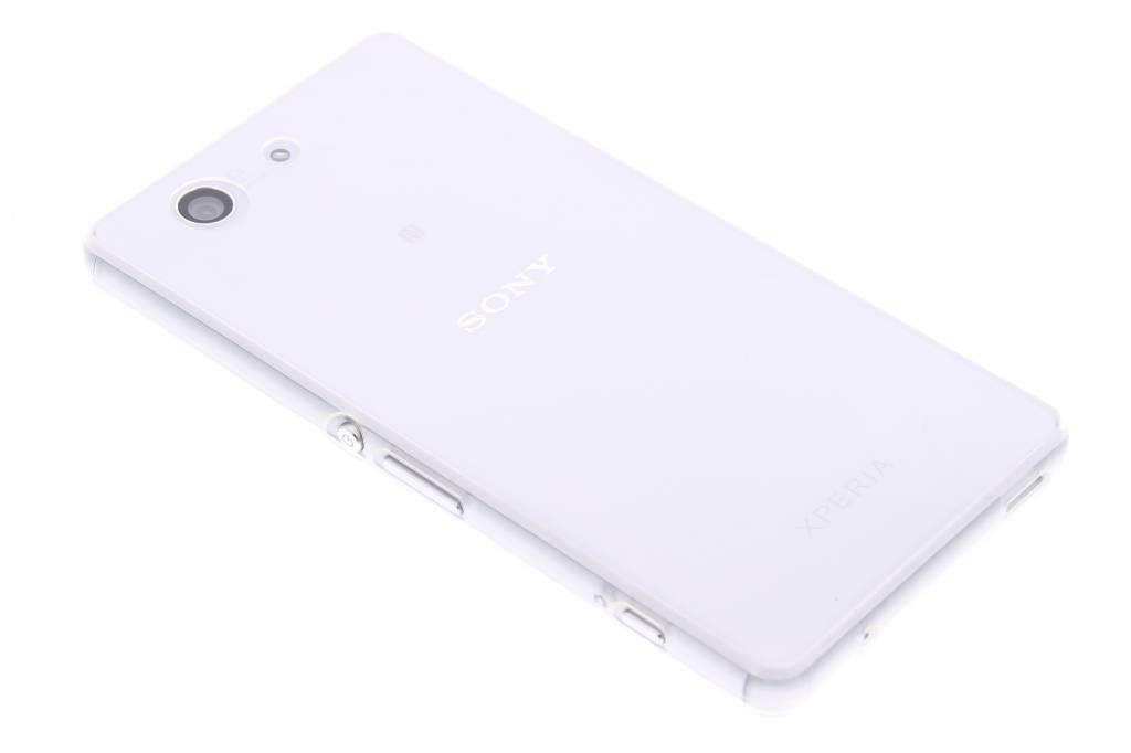 Ultra thin transparant TPU hoesje voor de Sony Xperia Z3 Compact