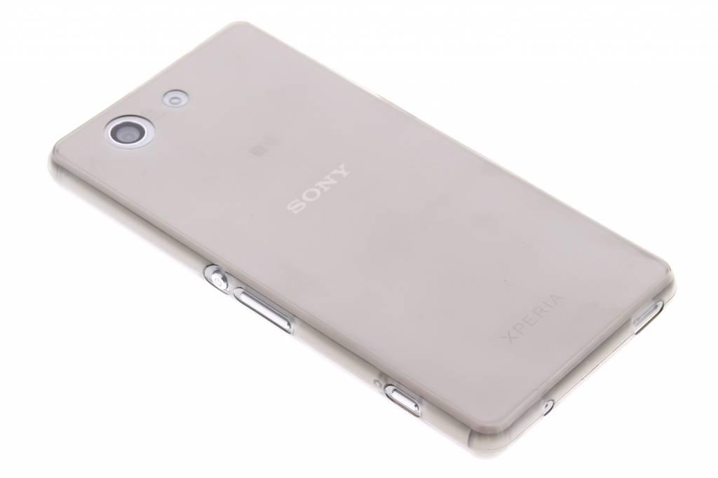 Grijs ultra thin transparant TPU hoesje voor de Sony Xperia Z3 Compact