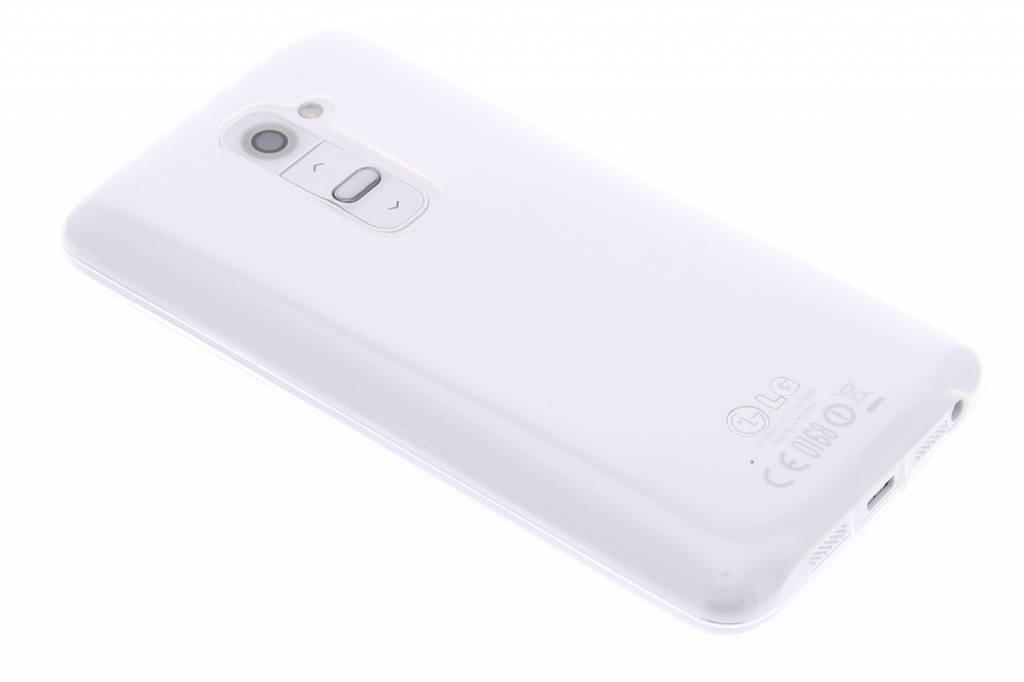 Ultra thin transparant TPU hoesje voor de LG G2