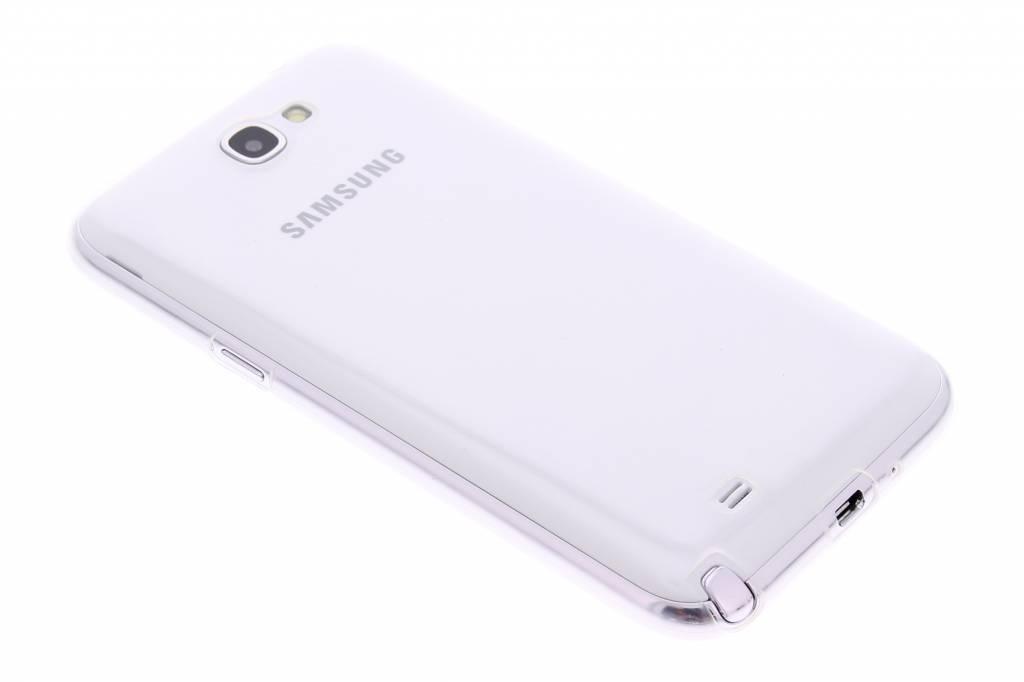Ultra thin transparant TPU hoesje voor de Samsung Galaxy Note 2