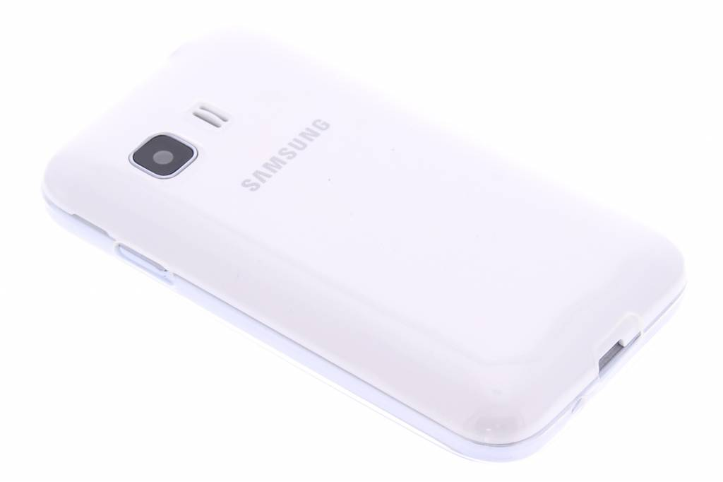 Ultra thin transparant TPU hoesje voor de Samsung Galaxy Young 2