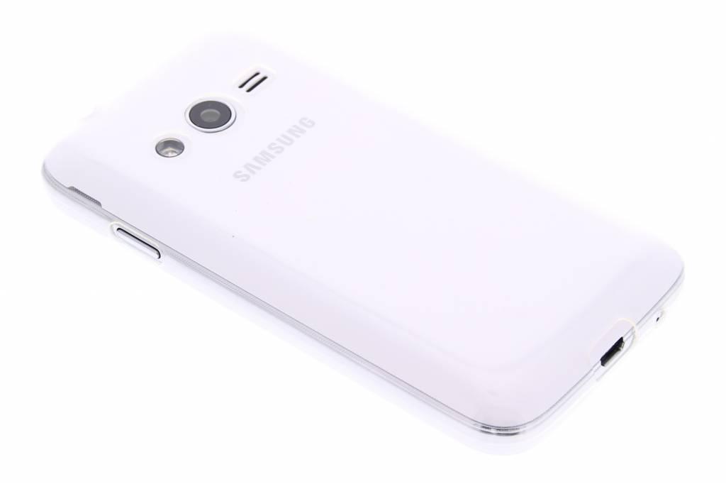 Bleu Ultra Mince Cas De Tpu Transparent Pour Samsung Galaxy Courbe 2 (lite) Lc5oV