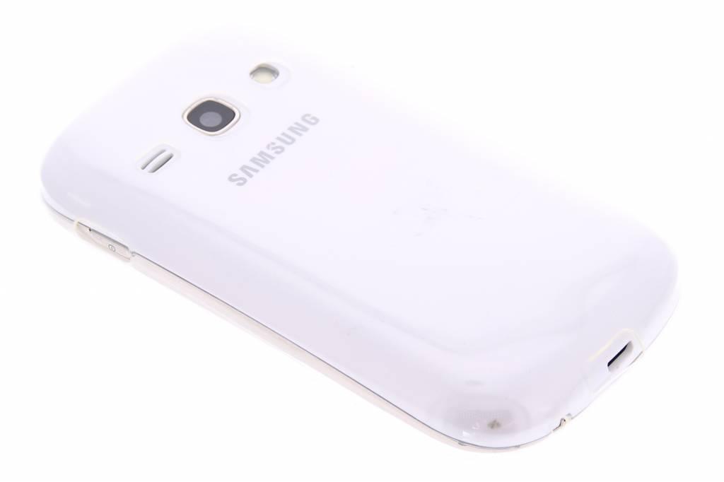 Ultra thin transparant TPU hoesje voor de Samsung Galaxy Fame
