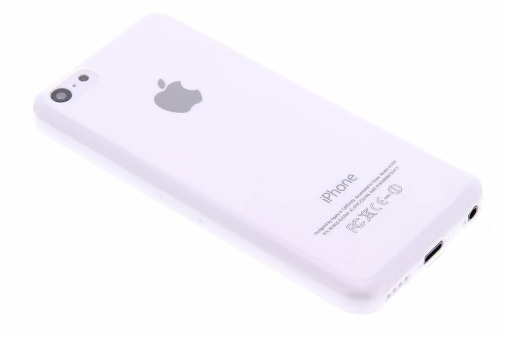 Ultra thin transparant TPU hoesje voor de iPhone 5c