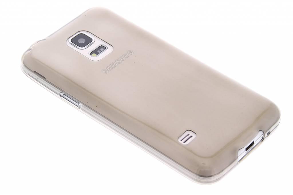 Grijs ultra thin transparant TPU hoesje voor de Samsung Galaxy S5 Mini