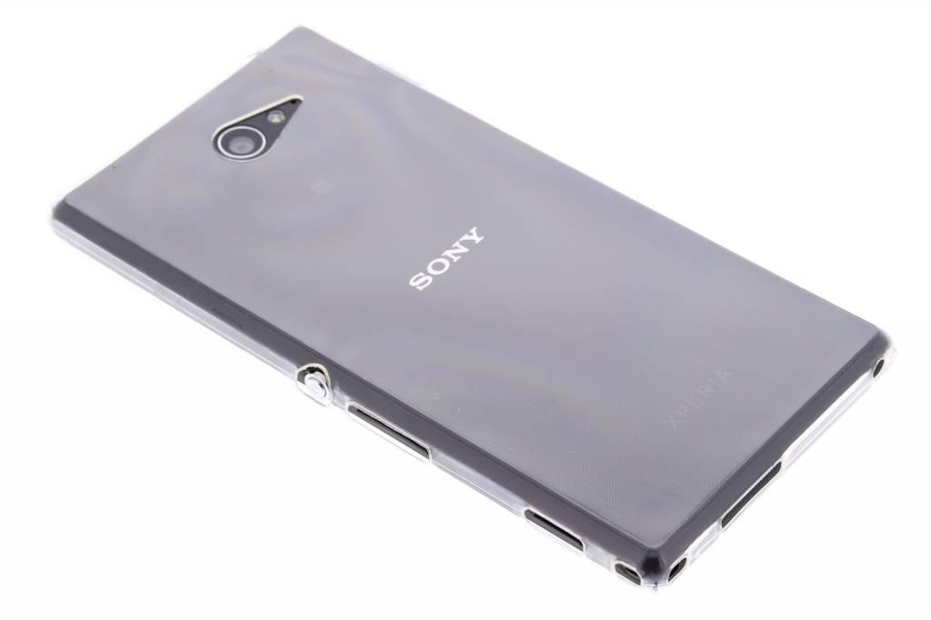 Ultra thin transparant TPU hoesje voor de Sony Xperia M2 (Aqua)