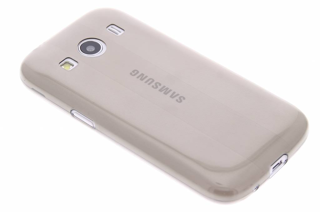 Grijs ultra thin transparant TPU hoesje voor de Samsung Galaxy Ace 4