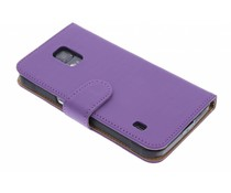 Effen booktype hoes Samsung Galaxy S5 Active