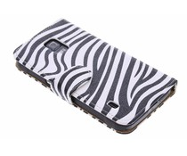 Zebra booktype hoes Samsung Galaxy S5 Active