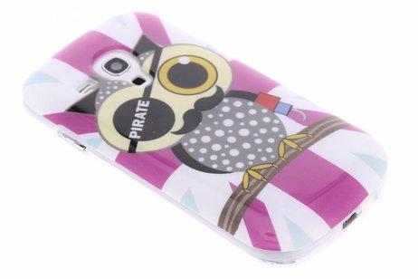 Hibou Conception Cas Flip Tpu Pour Samsung Galaxy S3 / Neo sPm0qSlyYq