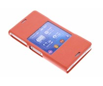 Sony Style Cover Sony Xperia Z3 Compact - oranje