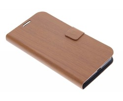 Hout design booktype Huawei Ascend Y550