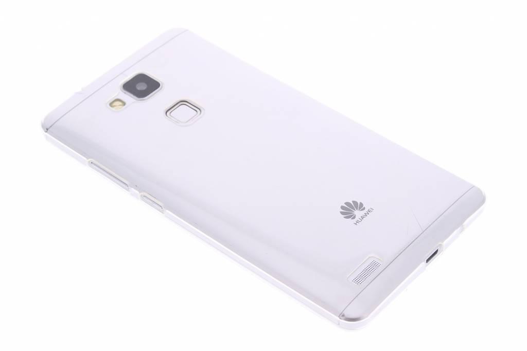 Ultra thin transparant TPU hoesje voor de Huawei Ascend Mate 7