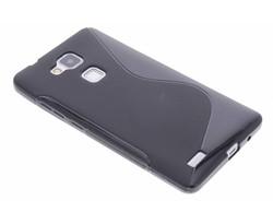 Zwart S-line TPU hoesje Huawei Ascend Mate 7