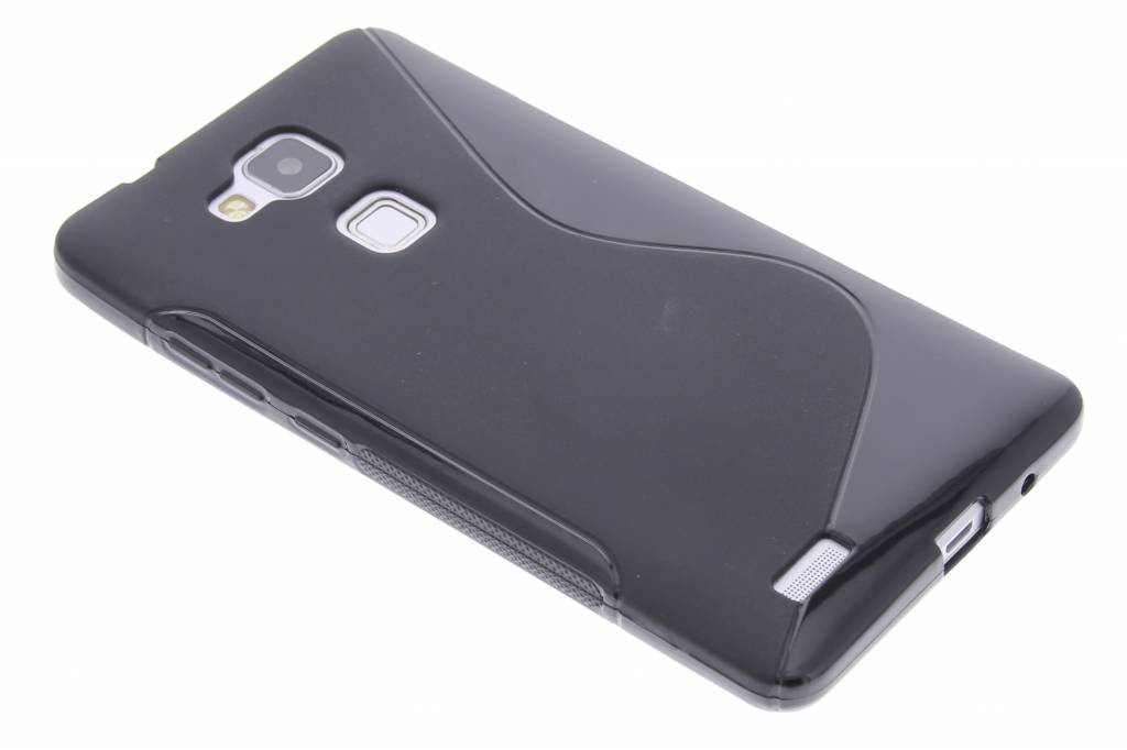 Zwart S-line TPU hoesje voor de Huawei Ascend Mate 7