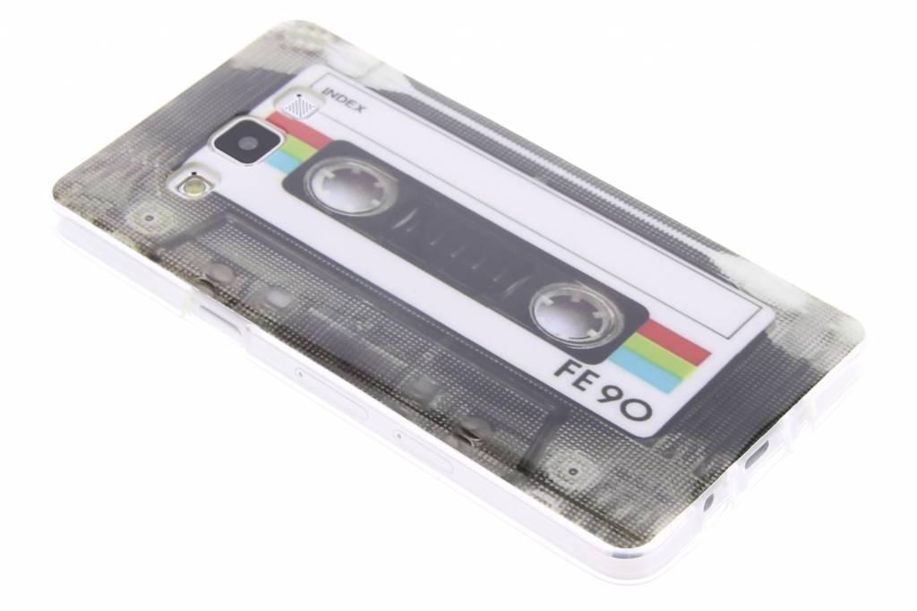 Cassettebandje design TPU siliconen hoesje voor de Samsung Galaxy A5