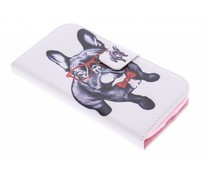 Design TPU booktype Samsung Galaxy Core