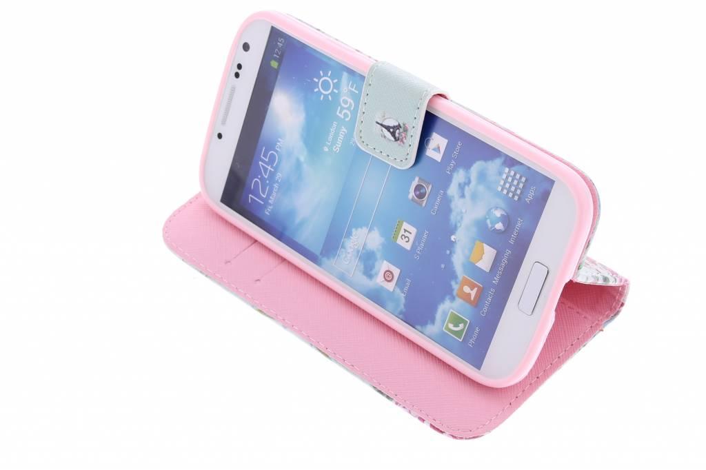 Paris Conception Booktype Case Tpu Pour Samsung Galaxy S4 IYDswh