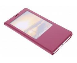 Luxe slim booktype met venster Huawei Ascend Mate 7