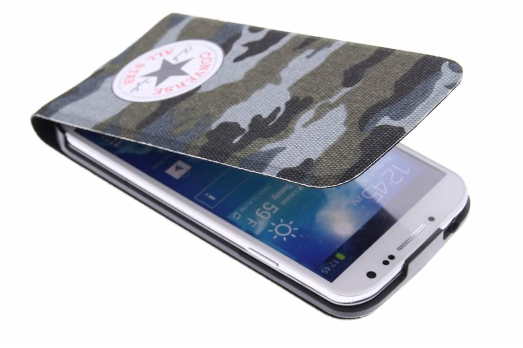 Image of Flip Case voor de Samsung Galaxy S4 - Camo