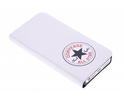Converse Booklet Case iPhone 5 / 5s / SE - Wit