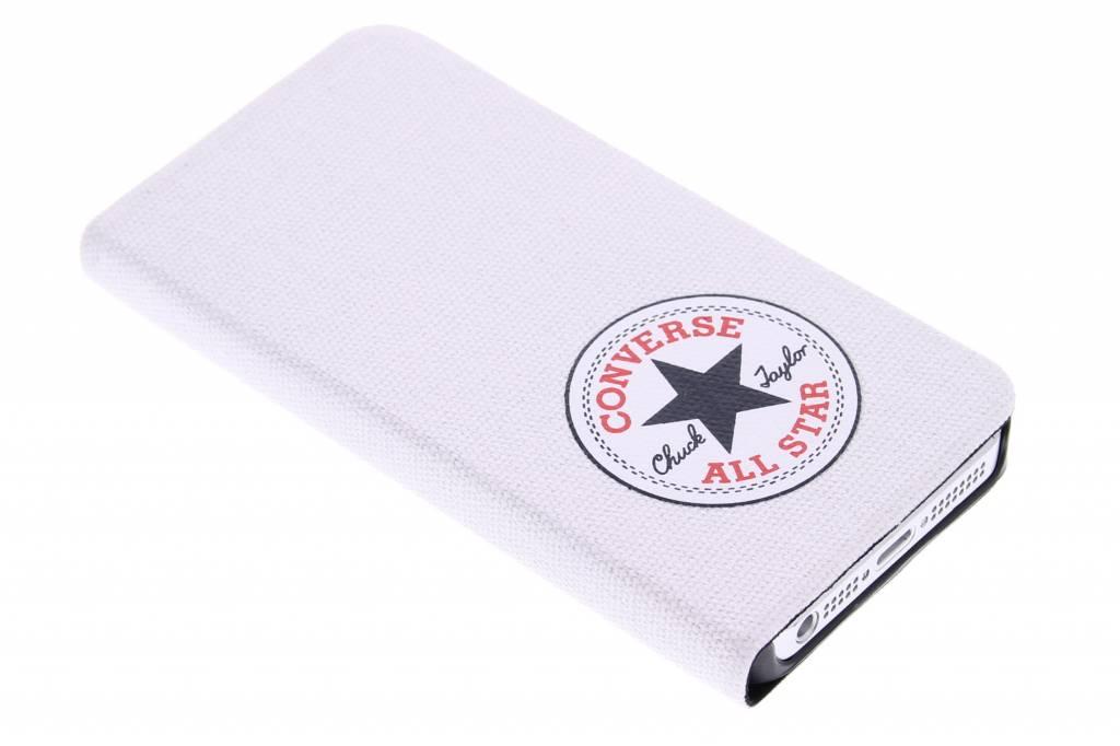 Converse Booklet Case voor de iPhone 5 / 5s / SE - Wit