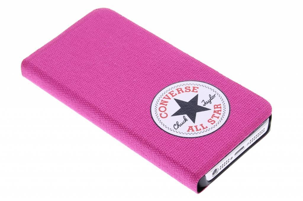 Converse Booklet Case voor de iPhone 5 / 5s / SE - Fuchsia