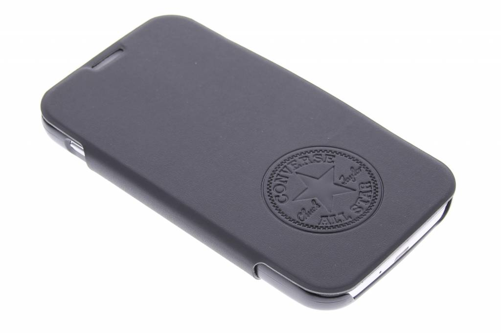 Converse Premium PU Booklet Case voor de Samsung Galaxy S4 - zwart