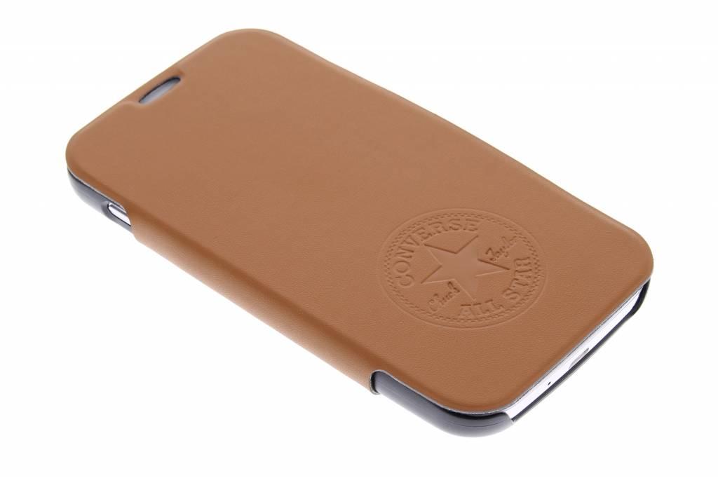 Image of Premium PU Booklet Case voor de Samsung Galaxy S4 - bruin
