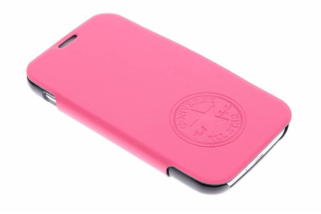 Image of Premium PU Booklet Case voor de Samsung Galaxy S4 - fuchsia