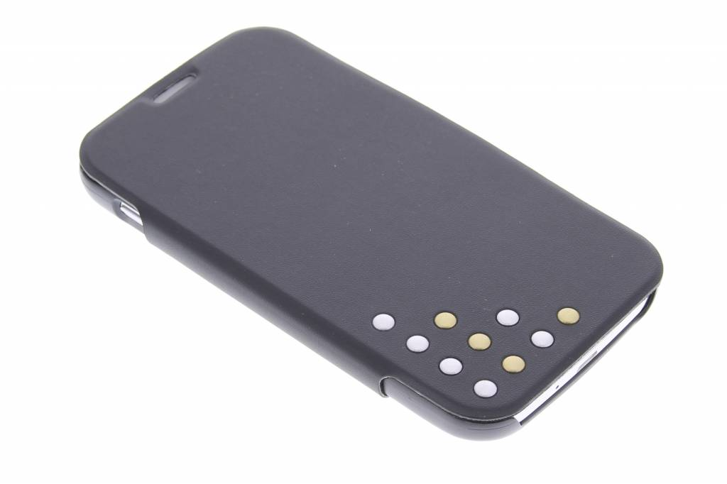 Image of Studded PU Booklet Case voor de Samsung Galaxy S4