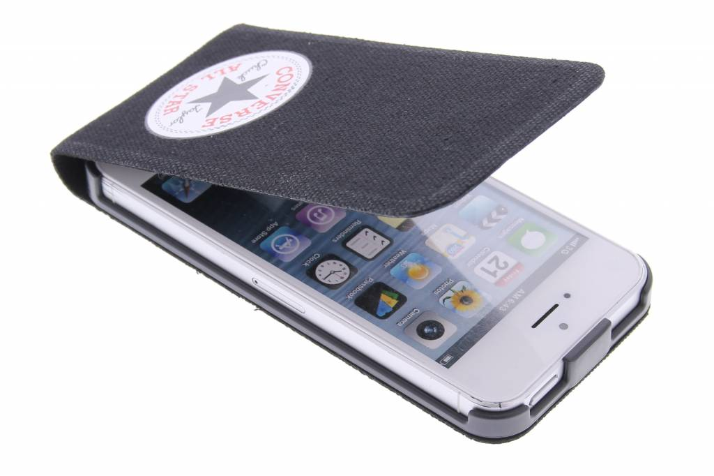 Converse Flip Case voor de iPhone 5 / 5s / SE - Zwart