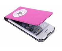 Converse Flip Case iPhone 5 / 5s / SE - Fuchsia