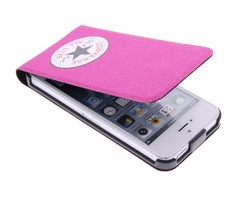 Converse Flip Case iPhone 5 / 5s / SE - Fuchsia