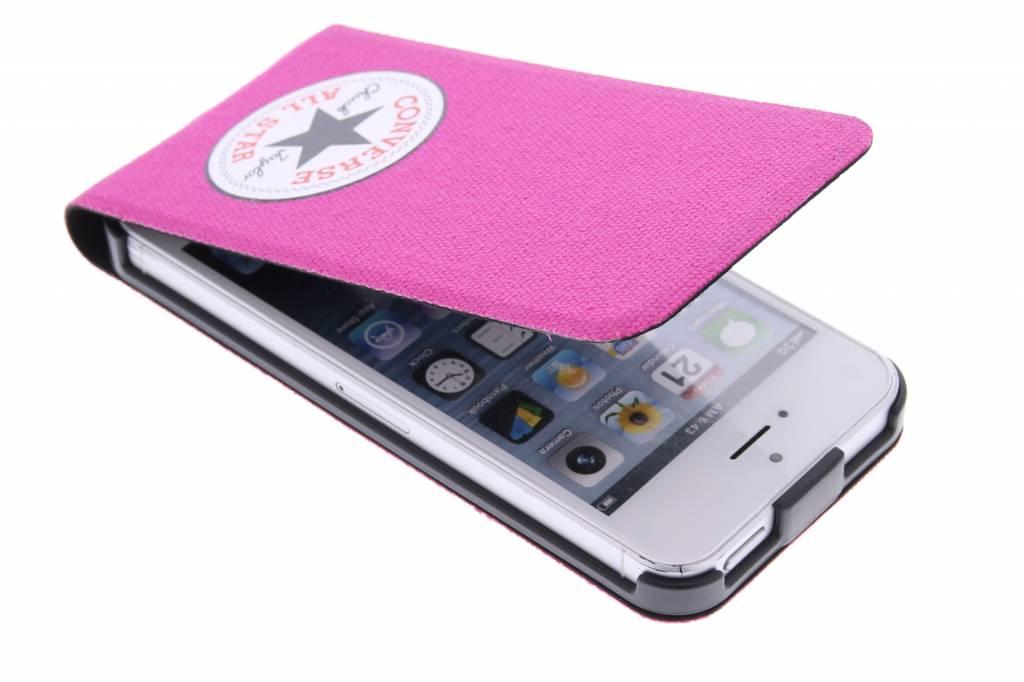 Converse Flip Case voor de iPhone 5 / 5s / SE - Fuchsia