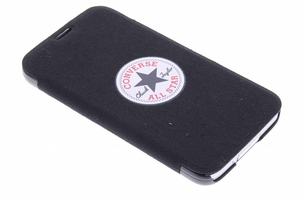 Converse Booklet Case voor de Samsung Galaxy S5 (Plus) / Neo - zwart