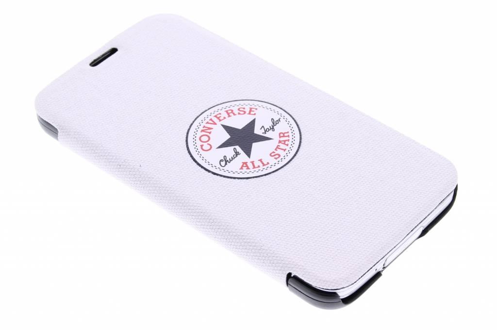 Converse Booklet Case voor de Samsung Galaxy S5 (Plus) / Neo - wit