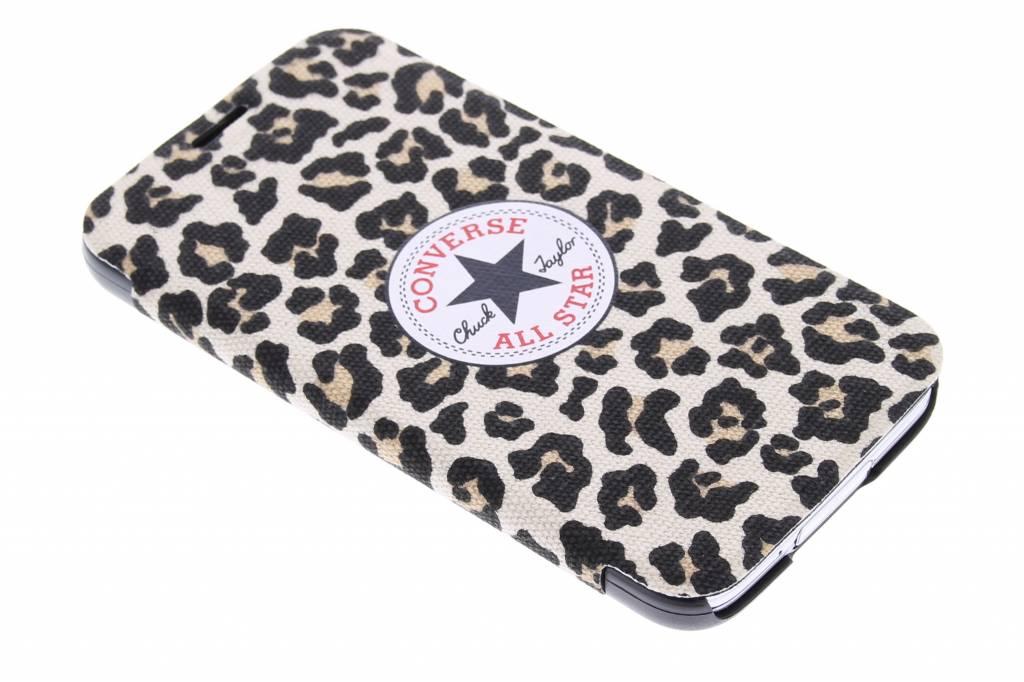 Image of Booklet Case voor de Samsung Galaxy S5 (Plus) / Neo - Leopard