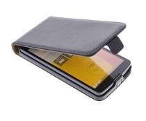 Zwart luxe flipcase LG L Bello / L80 Plus