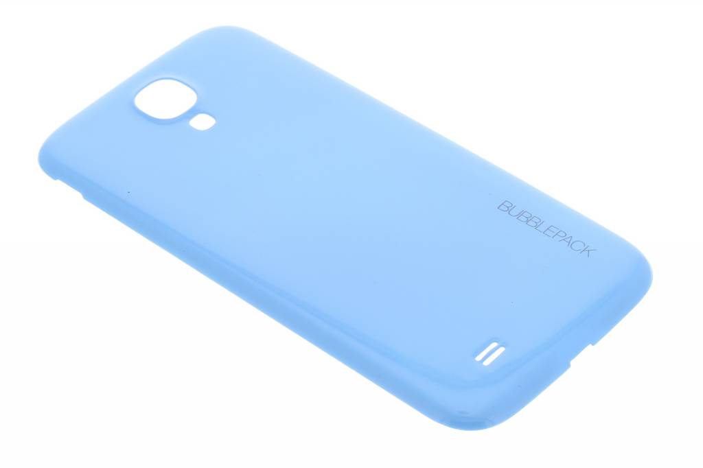 Blauwe bubblepack batterij cover voor de Samsung Galaxy S4