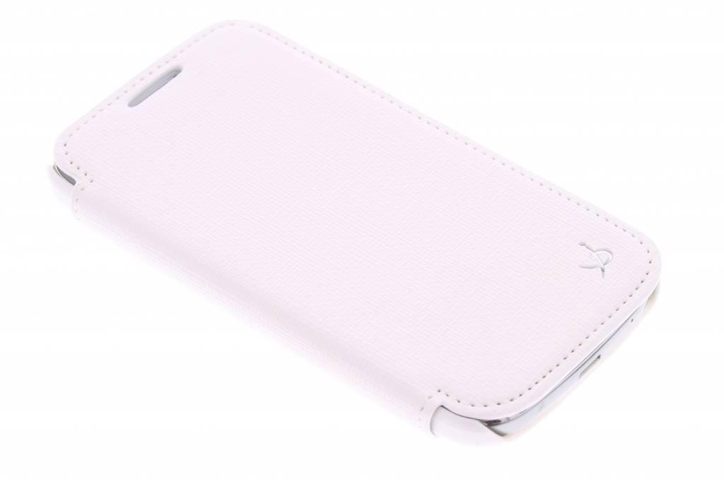 Dolce Vita Bookstyle Case voor de Samsung Galaxy S4 Mini - wit