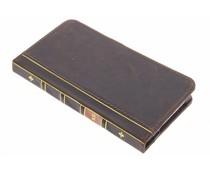 Bruin boek booktype hoes iPhone 6(s) Plus