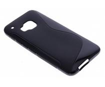 Zwart S-line TPU hoesje HTC One M9