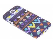 Indiaan design mat hardcase Samsung Galaxy S4