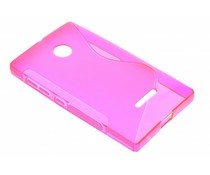 Rosé S-line TPU hoesje Microsoft Lumia 435 / 532