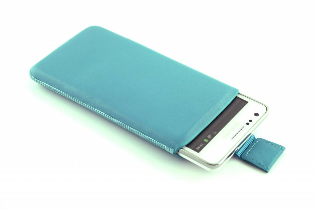Turquoise insteekhoesje voor de Samsung Galaxy Core 2