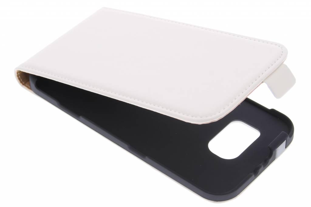 Mobiparts Premium flipcase voor de Samsung Galaxy S6 - White